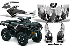 Can Am AMR Racing Graphics Sticker Kits ATV CanAm Outlander SST Decals 2012 CBXB