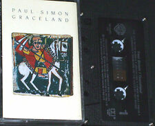 Paul Simon Graceland CASSETTE Cabadian issue  WB92 54474