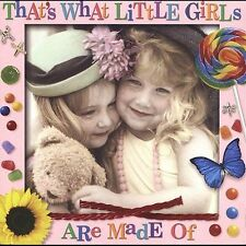 FREE US SHIP. on ANY 2 CDs! NEW CD Various Artists: That's What Little Girls Are