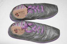 Bobs from Sketchers Women Canvas Flats Shoes in Gray/Purple - Size 8.5 - NEW