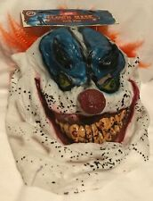 Halloween - Deluxe Clown Mask With Hair - Adult - Brand New