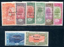 COTE SOMALI 1942 Yvert 196-203 ** (F0358