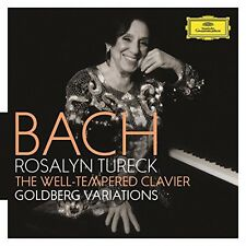 Rosalyn Tureck - Well-Tempered Clavier Goldberg Variations [New CD]