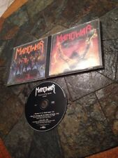 LOT CD MANOWAR FIGHTING  WORLD THE TRIUMPH STEEL WARRIORS WORLD ENVOI RAPIDE