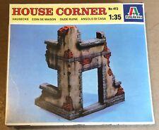 ITALERI 413 - HOUSE CORNER - 1/35 PLASTIC KIT NUOVO