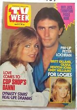 TV Week 1982 COP SHOP 400 Shows & COVER, Sullivans,Young Doctors,Paula Duncan