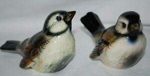 Lot 2 Goebel W. Germany Sparrow Bird Figurines CV72 & VC73