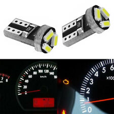 20x Universal T5 3SMD LED Bulb Instrument Panel Dash Gauge Interior Light Top