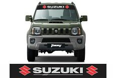 Suzuki Jimny 4x4 windscreen sun visor strip decals stickers SZ3 SZ4