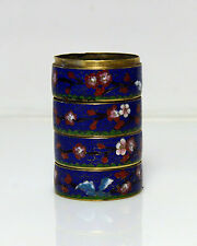 Cloisonne Jewelry Container 4 dishes