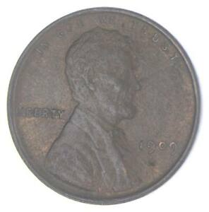 XF+ 1909 Lincoln Wheat Cent - 1st Year Issue - Great Condition *999
