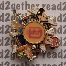 Disney Pin WDW 40 Years of Magic Lenticular Spinner