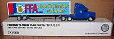IOWA 1993-1994 FFA Freightliner 120 Semi Truck & Trailer 1/64 Ertl Toy #T061 NEW