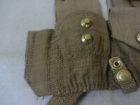 WWI P08 Ammo Pouch Set / 1908 1st Pattern Ammo Pouches - Reproduction (Pair) uH7