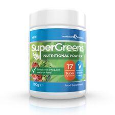 SuperGreens Powder w/ 17 Super Fruits & Vegetables 100g Evolution Slimming
