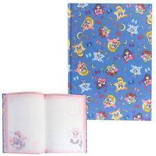 Sailor Moon Hardcover Notebook Blue Luna Mercury Mars Jupiter Venus Stationery