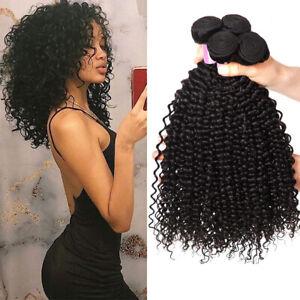 10A 100% Virgin Brazilian Kinkys Curly Hair Bundles Virgin Kinky Curly 3 Bundles