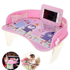 Waterproof Safety Baby Stroller Car Seat Table Tray Snack Drawing Board Holder