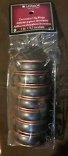 Levolor Decorative Clip Rings for 1 inch curtain rods Set of 7 New Unopened
