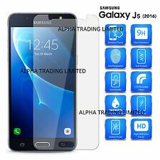 100% GenuinE Tempered Glass Film Screen Protector For Samsung Galaxy J5(2016)
