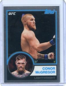 2018 TOPPS CHROME UFC 1983 INSERT CONOR McGREGOR #UFC83-CM