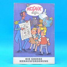 Mosaik 153  Digedags Hannes Hegen Originalheft   DDR   Sammlung original MZ 10