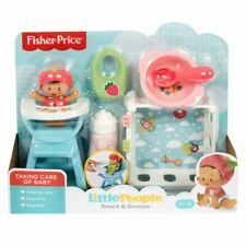 Fisher Price - Little People Snack & Snooze With Baby - Brand New