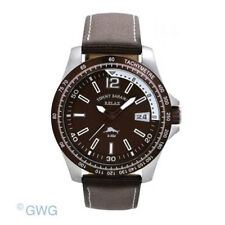 Tommy Bahama RELAX Men's RLX1185 Banana Landing Brown Dial Silver Accents Chrono