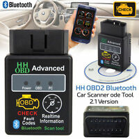 ELM327 ODB ODB2 Advanced Bluetooth Car Auto Diagnostic Scanner Tool 2018 MODEL