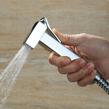 Bathroom Chrome Brass Toilet Hand Held Diaper Sprayer Bidet Shattaf Shower Head