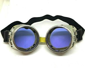 Didymium glasses Goggles Metal Ace Glass Blowing Lampworking Safety Boro 3 5