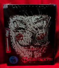 V For Vendetta Steelbook Mondo Artwork Blu-Ray Import Region Free NEW