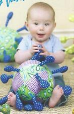 Bopple Ball soft baby toy pattern by Barbara Brunson of Vanilla House Designs