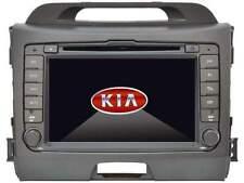 """AUTORADIO GPS KIA SPORTAGE 8""""HD DVD USB SD DIVX WIFI 3G MAPPE CANBUS NO DOGANA"""