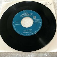 JM20 45RPM Margie Rayburn I'm Available  / If You Were  G+ to VG Liberty 55102
