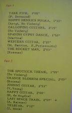 "33 tours The SPOTNICKS Vinyl LP 12"" TAKE FIVE Rock PRESIDENT 181 F Reduit RARE"