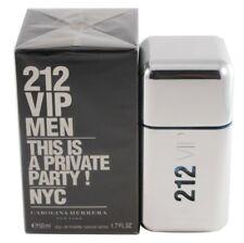 212 VIP MEN BY CAROLINA HERRERA 1.7/1.6 OZ EDT SPRAY FOR MEN NEW IN BOX