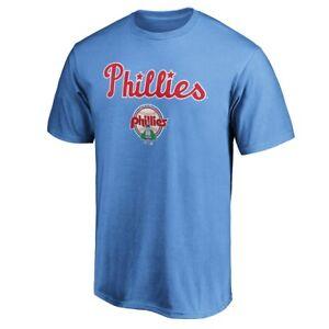 Philadelphia Phillies T-Shirt MLB Champs Baseball Tee 2021 Cotton Gift Fan Men