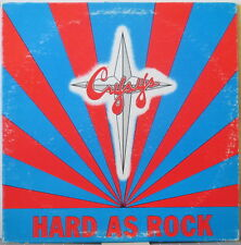 CRYSYS Hard as Rock LP U.S. Hard Rock/Metal – Original Press on Long St. Records