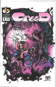 Small Press Comic Shop Creed 1 2 B NM/MT Gung-Ho TMNT 34 Argus Canopus Militia