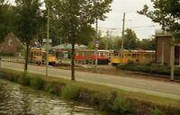 PHOTO  NETHERLANDS DEN HAAG 1992 TRAM 'S GRAVENMADE 1122 1136