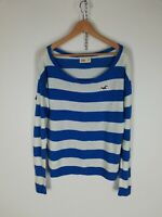 HOLLISTER Maglione Pullover Jumper Sweater Tg M Donna Woman