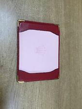 Rolex Watch Notepaper Holder Rare Collectors Item