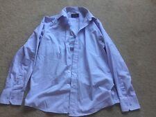 Burton mens purple cotton blend shirt size 15.5