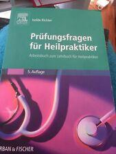 Prüfungsfragen für Heilpraktiker: Arbeitsbuch zum Lehrbu... | Buch | Zustand gut