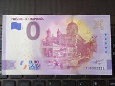 BILLET EURO SOUVENIR 2021-1 FRÉJUS - ST RAPHAËL ANNIVERSAIRE