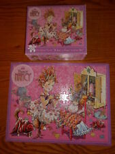 Fancy Nancy 100 Piece Glitter Puzzle WHAT'S a FANCY GIRL tO DO? Complete w box