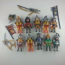 PLAYMOBIL  Samurai  Ninja Asiakrieger Ritter 10 Figuren Mongolen