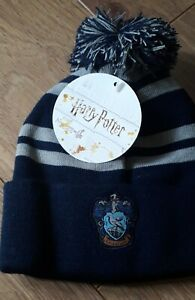 Harry Potter Men's Ravenclaw Beanie Woolly Ski Bobble Hat
