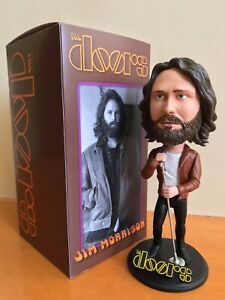 The DOORS-  Jim Morrison. Deluxe Bobble-head. FAN ART. 1970 Era.